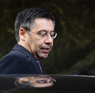 Josep Maria Bartomeu, presidente del Barça