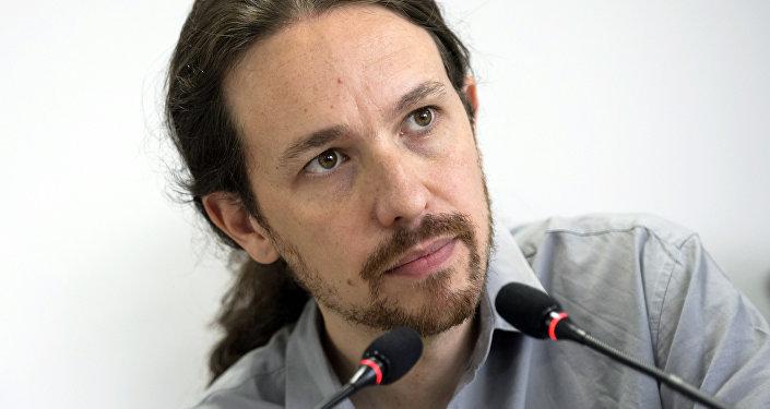Pablo Iglesias, el secretario general de Podemos