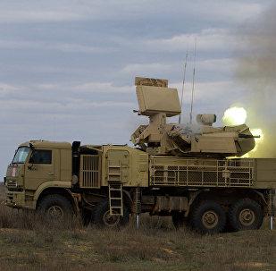 Pantsir-S, uno de los sistemas de defensa antiaérea ruso en servicio de las fuerzas armadas de Siria (imagen referencial)