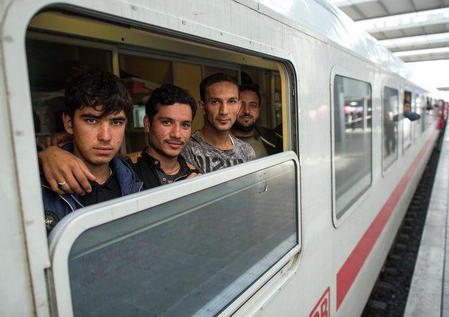 Refugiados afganos en Alemania (archivo)