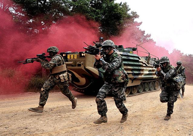 Marines surcoreanos