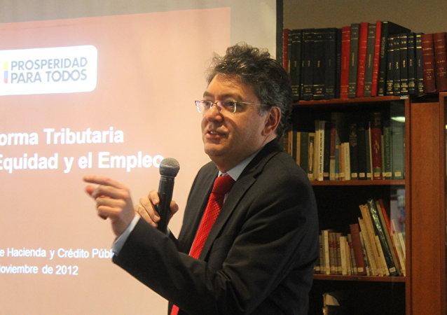 Mauricio Cárdenas Santamaría, ministro de Hacienda de Colombia