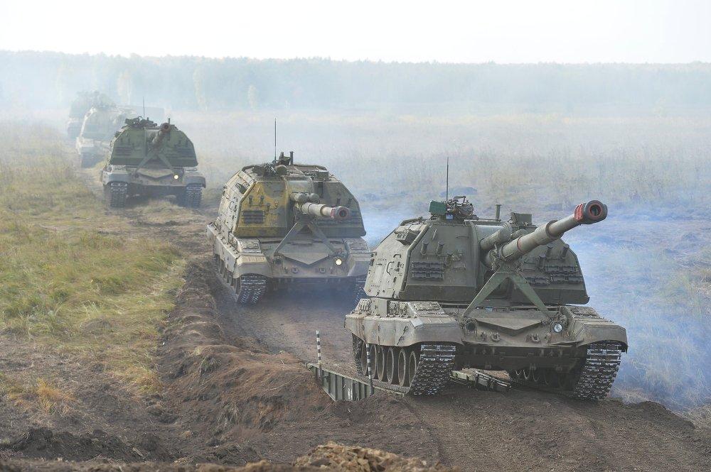 Ejercicios militares Tsentr 2015
