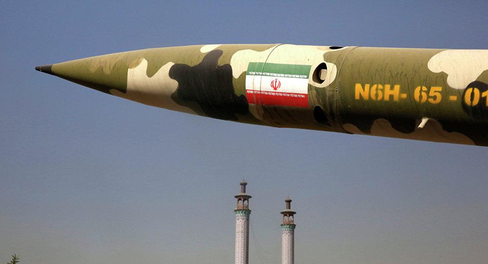 Un misil iraní (archivo)