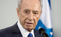 Shimon Peres, el expresidente israelí