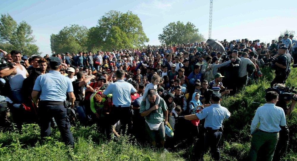 Inmigrantes ilegales en Croacia