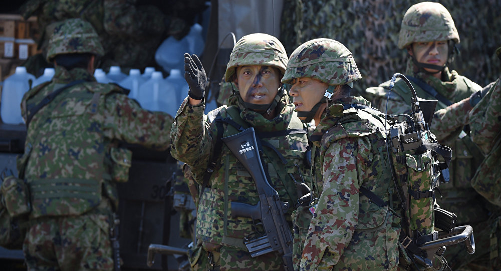 Soldados del Ejército de Japón