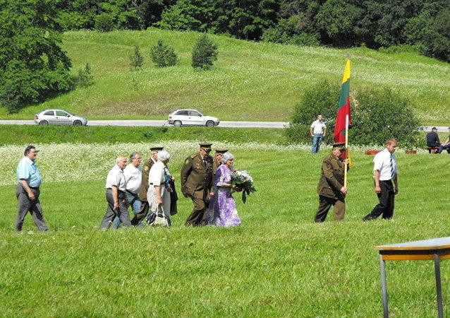 Veteranos de los 'hermanos del bosque'