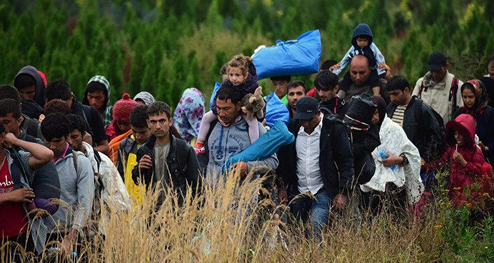 Inmigrantes llegan a Europa