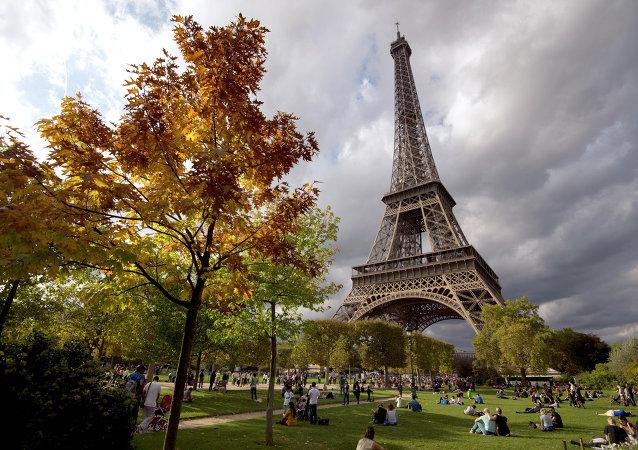 La Torre Eiffel en Paris