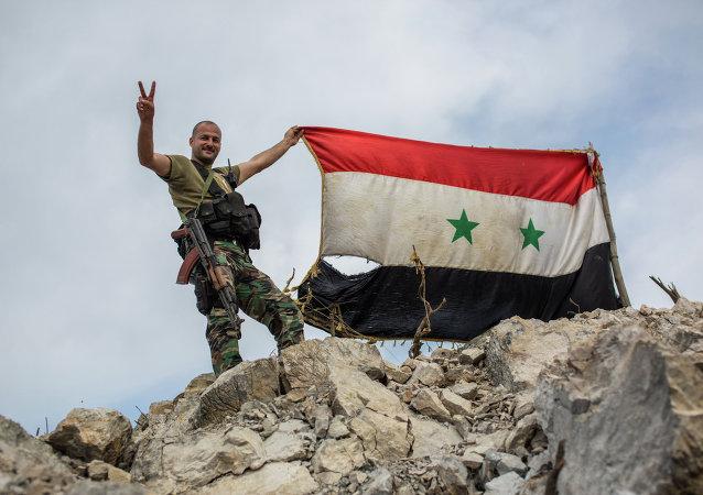 Soldado de Ejército de Siria
