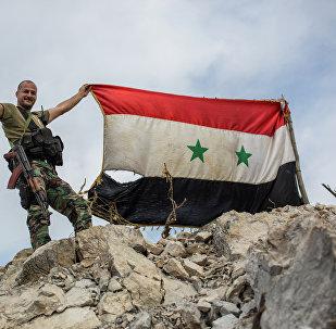 Soldado de Ejército de Siria (archivo)