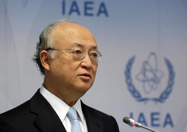 Yukiya Amano, director general de la OIEA