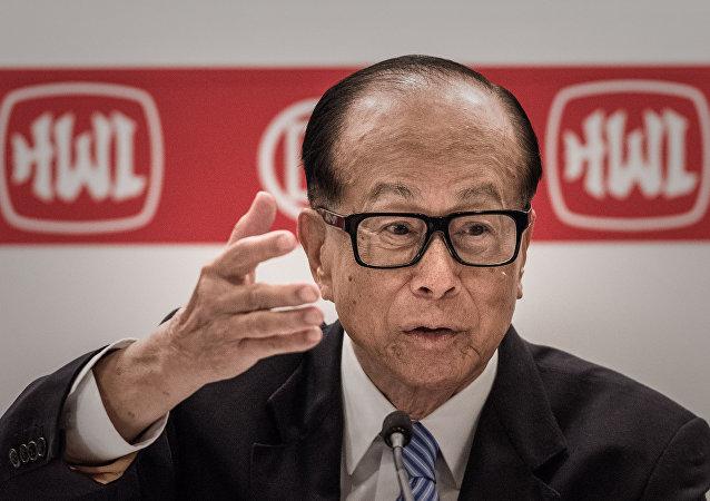 Li Ka-shing, magnate hongkonés