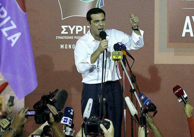 Alexis Tsipras, líder del partido Syriza