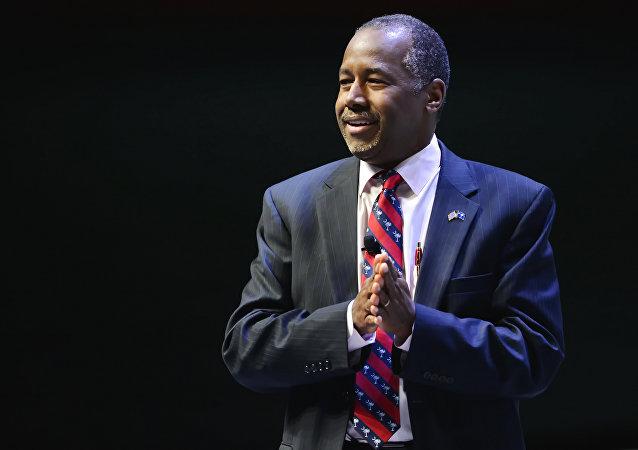 Ben Carson, candidato republicano a la presidencia de EEUU