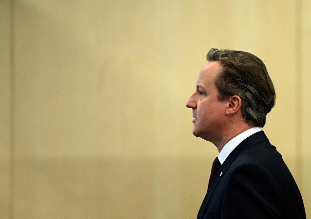 David Cameron, primer ministro del Reino Unido