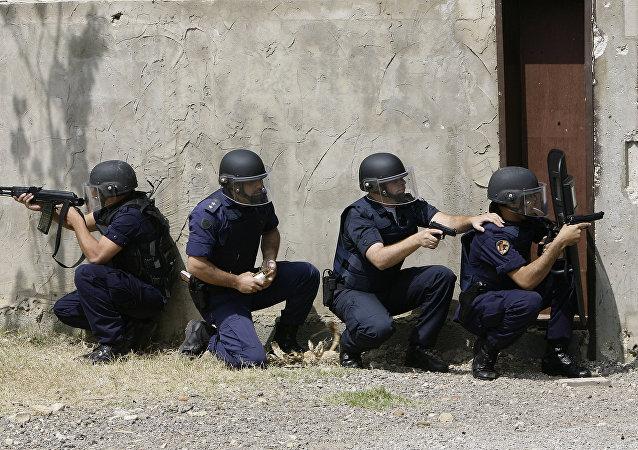 Policía libanesa