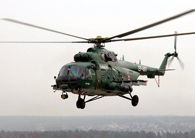 Helicóptero Mi-171Sh del Ejército del Perú
