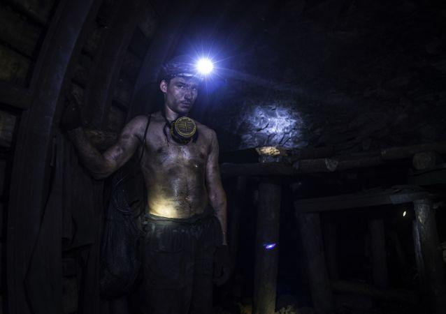 Una mina en Donbás (archivo)