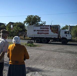 La caravana de camiones número 38