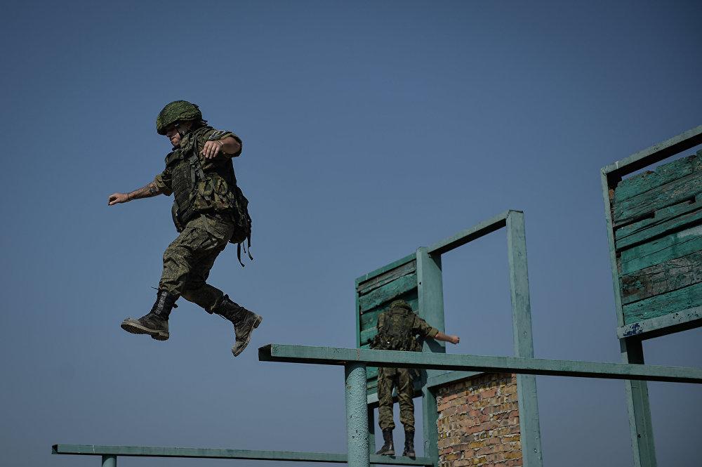 Proyecto militar reúne a 12 'infantes de marina' voluntarios
