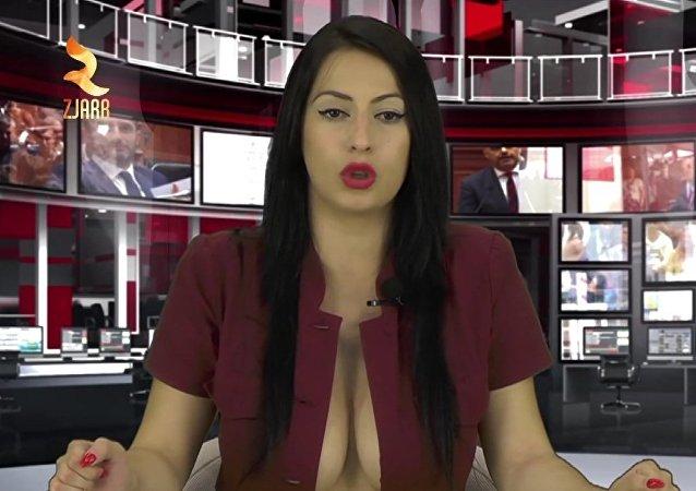 Cuando la presentadora eclipsa las noticias