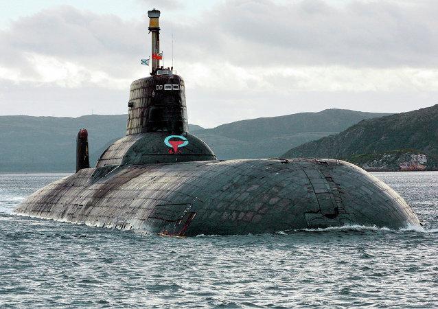 Submarino nuclear ruso de clase Akula (archivo)