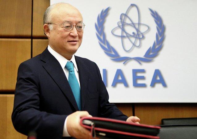 Yukiya Amano, director general del OIEA