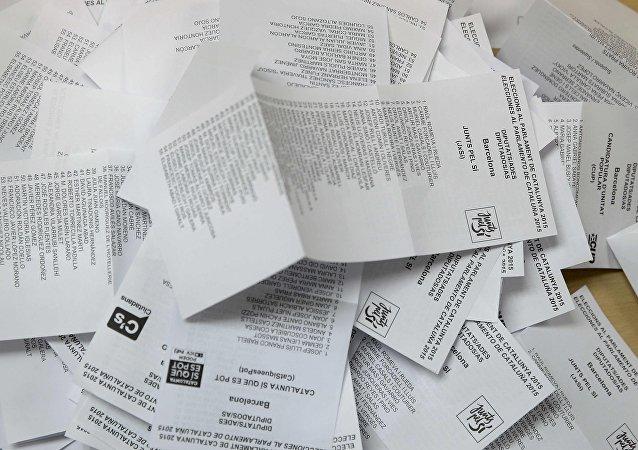 Elecciones en Cataluña (imagen referencial)