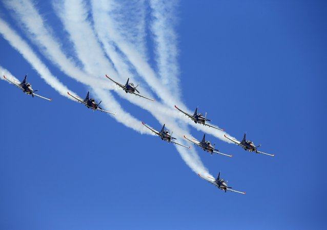 Grupo acrobático Orlik (Águila) de la Fuerza Aérea Polaca