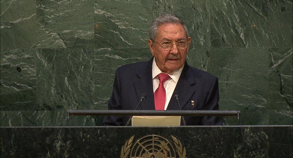 Raúl Castro, el expresidente cubano
