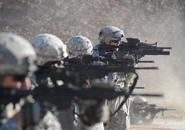Soldados del Ejército de EEUU en Irak