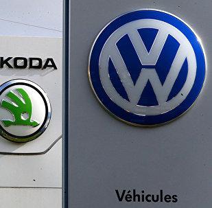 Logos de Volkswagen, Skoda, Audi, Seat