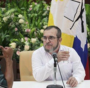 El máximo líder de las FARC, Rodrigo Londoño Echeverri, alias 'Timochenko'