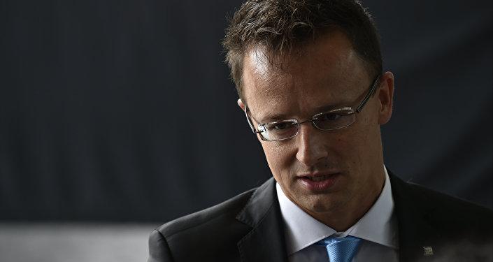 Peter Szijjarto, el ministro de Asuntos Exteriores de Hungría