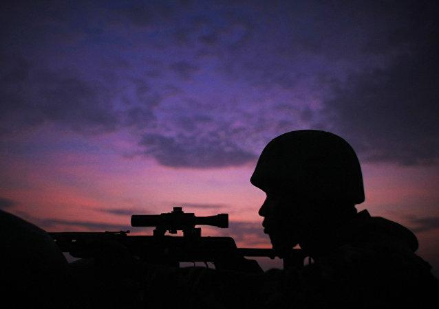 Las tropas de la Misión de la Unión Africana en Somalia