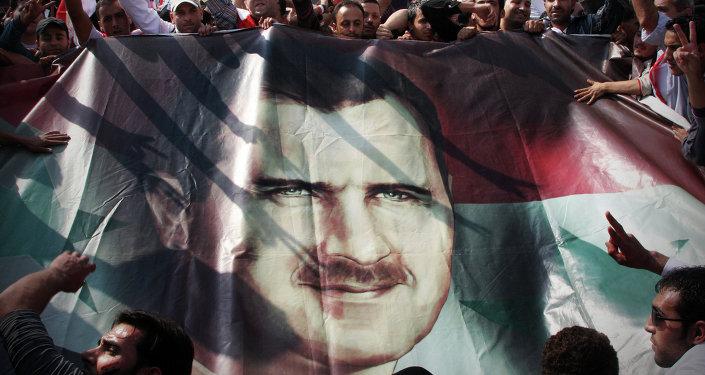 El presidente de Siria, Bashar Asad