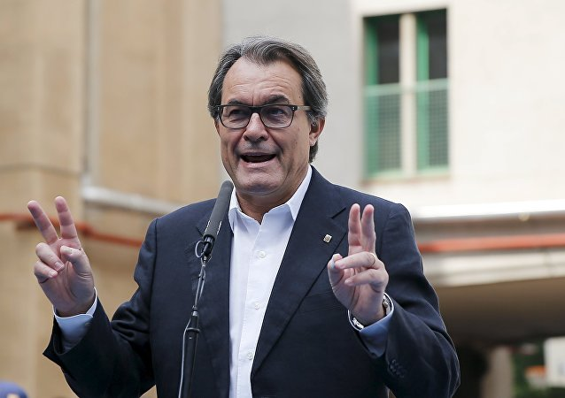 Artur Mas, ex presidente de Cataluña