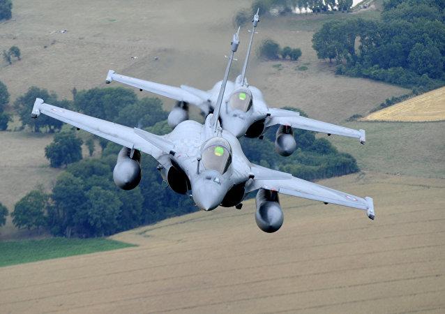 Rafale C, cazas de reacción de las Fuerzas Aéreas de Francia