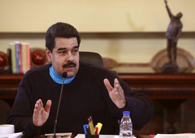 Nicolás Maduro, presidente de Venezuela,