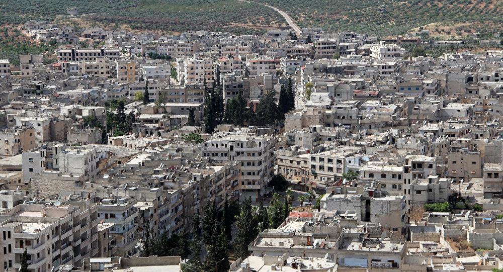 Ciudad de Ariha, provincia de Idlib, Siria