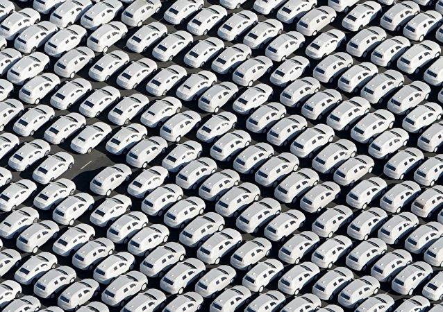 Coches nuevos de la compañía Volkswagen