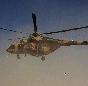 Un helicóptero afgano (archivo)