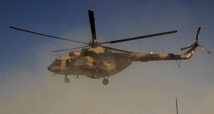 Un helicóptero afgano (imagen ilustrativa)