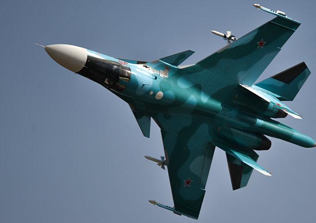 Cazabombardero ruso Sukhoi Su-34