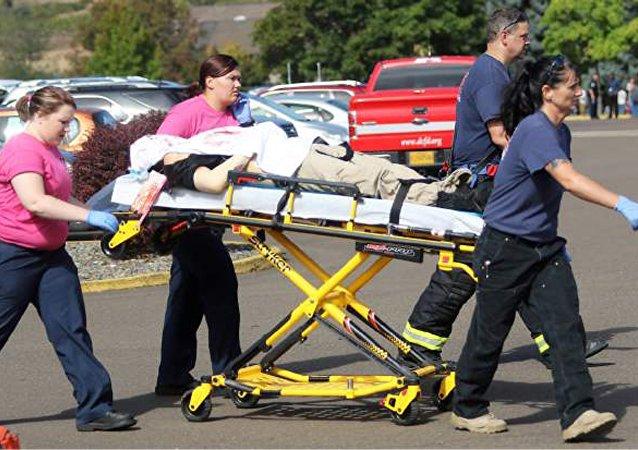 Diez muertos y siete heridos en el tiroteo de Oregon, según policía