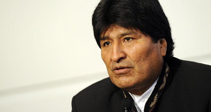 Evo Morales, president de Bolivia