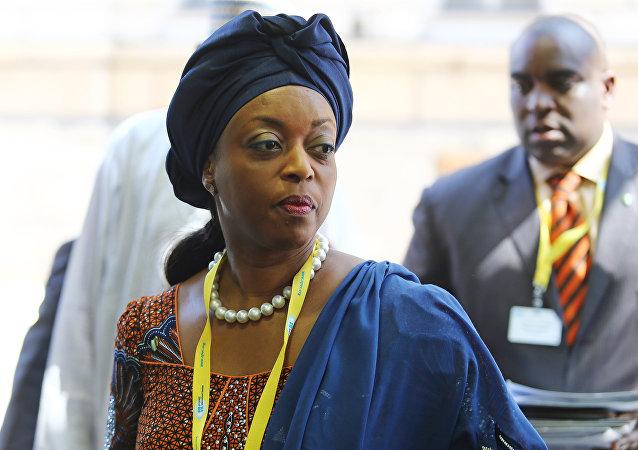 Diezani Alison-Madueke, presidenta de la OPEP