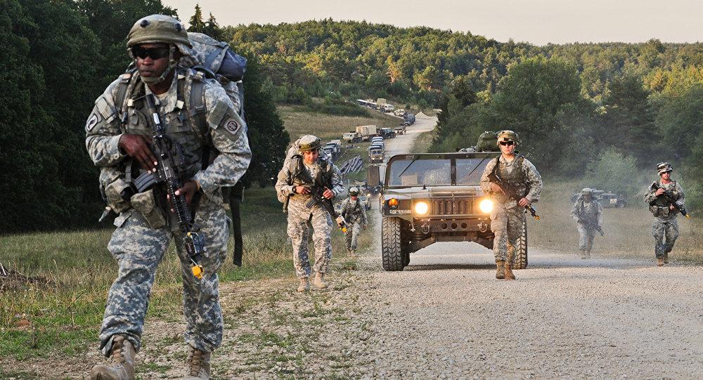 Maniobras de la OTAN (archivo)
